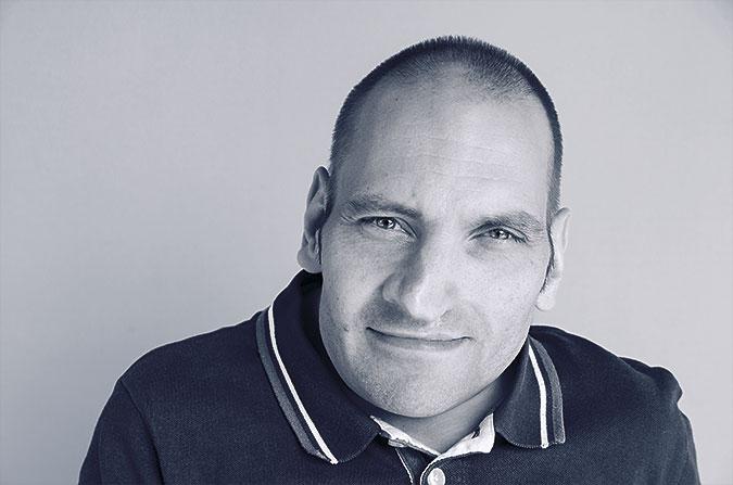 Svartvitt foto av Herman Grafström.