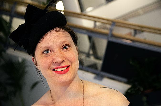 Porträtt av Hanna Öfors från Sex i rörelse