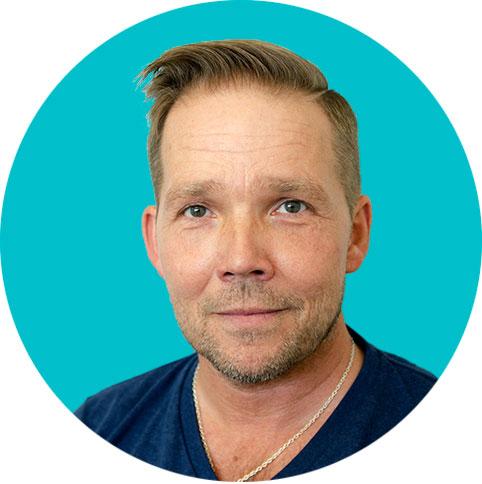 Porträttfoto av Peter Ojala