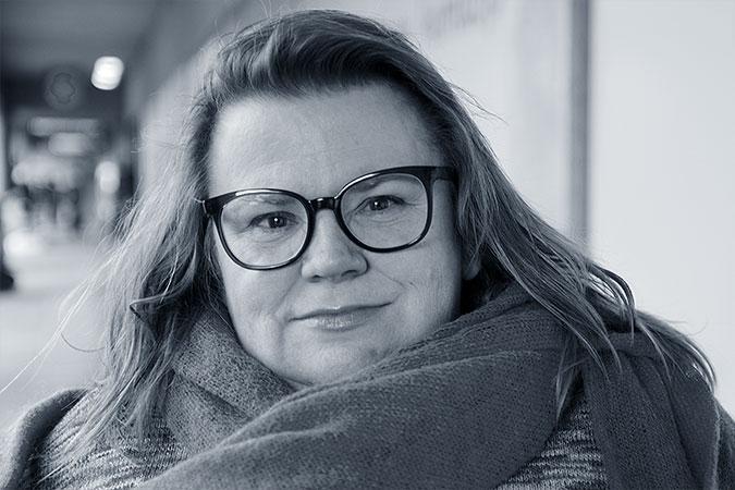 Porträtt av Maria Johansson
