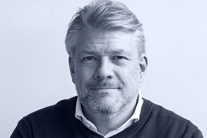 Porträtt av Per-Olof Hedvall