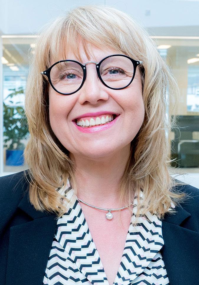 Porträtt av Åsa nilsson Billme