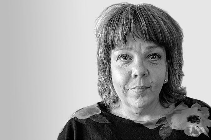 Porträtt på Åsa Strahlemo