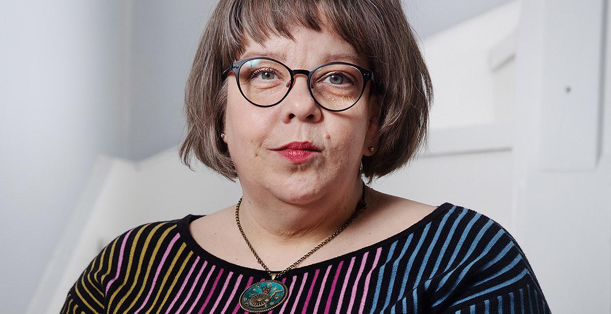 Porträtt bild av Åsa Strahlemo